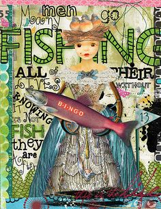 Art Journaling 102: Digi Technique Focus – The Clone Tool with Tutorials. Page by Julie Ann Shahin for Studio Tangie