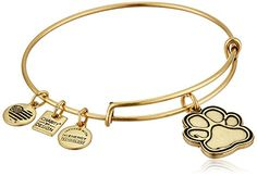 Design Prints of Love Rafaelian Gold Bangle Bracelet.. Details Here: http://amzn.to/2hFtVOf