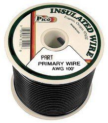 AUTOMOTIVE WIRE 18 AWG HIGH TEMP GXL STRANDED WIRE PINK 100 FT ON A SPOOL  USA