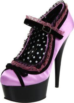Pleaser Women's Delight-683/PURSA/B Platform Pump,Purple/Black,5 M US Pleaser http://www.amazon.com/dp/B0044D2A7U/ref=cm_sw_r_pi_dp_-lSOwb09CCHV6