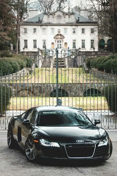 Not sure if I like the country house or the Audi more.