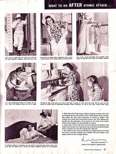 What to do after an atomic attack.....