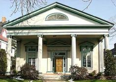 1000 images about greek revival on pinterest greek for Greek revival architecture characteristics