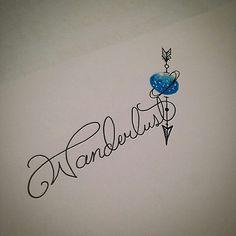 Soñando hasta Saturno Wanderlust Tatoos #Travel #tatoos #tatuajes #tatoo #viajes #wanderlust