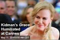 Latest News:  Kidman's Grace Humiliated at Cannes.  To say the premiere of Grace of Monaco, with Nicole Kidman in the title role, did not go well last night at Cannes would be an understatement.  Get all the latest news on your favorite celebs at www.CelebrityDazzle.com!