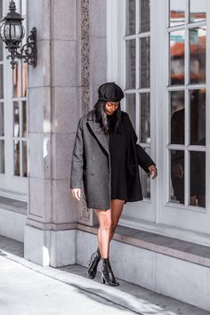 Where The Good Vibes Are   street style, outfit idea, minimalist fashion, women's fashion, winter outfit, all black outfit, fashion, style