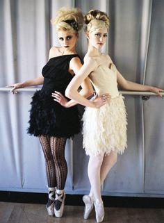 Black Swan themed photo shoot!