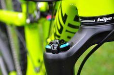 - custom bike from bikeinsel.com -  #SantaCruz #Bronson #Bikeinsel Santa Cruz Bronson, Custom Bikes, Mountain Biking, Bee, Yellow, Honey Bees, Custom Motorcycles, Bees, Custom Bobber