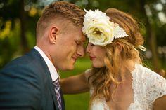 gorgeous wedding couple. edmonton bohemian country wedding