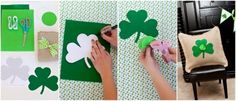St. Patrick's day crafts.
