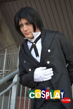 Sebastian Michaelis Cosplay from Kuroshitsuji in Mantova comics 2014 IT
