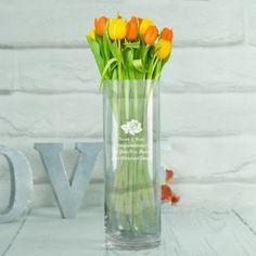 Surprising Useful Tips: Pink Vases Dollar Stores vases decoration food coloring.Paper Vases Easy old vases tin cans. Vase Arrangements, Vase Centerpieces, Vases Decor, Engraved Wedding Gifts, Engraved Gifts, Red Vases, White Vases, Clear Vases, Large Vases