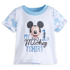 Mickey Mouse ''My First Mickey'' Tee for Baby