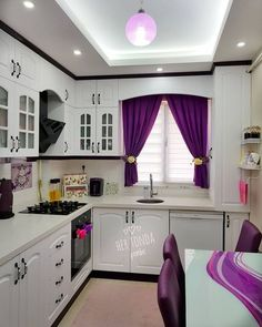 60 Floors for kitchen: models and types of materials - Home Fashion Trend Kitchen Room Design, Home Decor Kitchen, Interior Design Kitchen, Room Interior, Style At Home, Rideaux Design, First Apartment Decorating, Craftsman Kitchen, Pantry Design