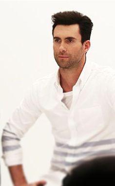 Adam in white... Lovely
