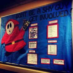 resident assistant   Tumblr I'm gonna have a floor of girls but this is just adorable :D #bulletinboard