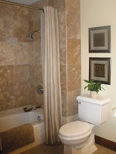 bathroom remodel but with a rock tub