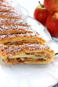 * * * A P F E L S T R U D E L* * *  Voici l'un des dessertsles plus réputésd'...