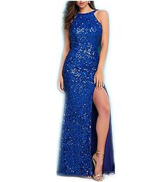 ac8f682a0 DreHouse Womens Sequins Mermaid Evening Dresses Sexy Backless Prom Party  Dress >>> You can get additional details at the image link.