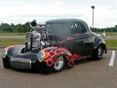 New motorcycle storage hot rods ideas Pigeon Forge, Classic Hot Rod, Classic Cars, Hot Rods, Chevy Ssr, Sweet Cars, Us Cars, Drag Cars, Vintage Trucks