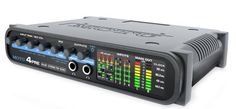 MOTU 4pre USB and FireWire Audio Interface: Bus-powered via FireWire, with 4 mic preamps in a rugged enclosure, the MOTU 4pre is the ideal audio interface for mobile recording at up to 96 kHz/24-bit.