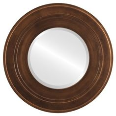 Ebern Designs Rubalcava Framed Round Mirror in Sunset Gold Size: x Wall Mirrors With Hooks, Classic Wall Mirrors, Contemporary Wall Mirrors, Round Wall Mirror, Beveled Mirror, Round Mirrors, Gothic Mirror, Mirror Words, Fake Plants Decor