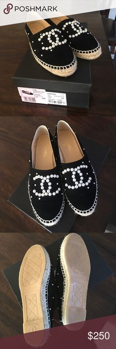 Chanel espadrilles Worn couple times CHANEL Shoes Espadrilles