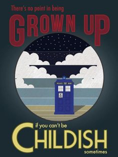 One of the better Doctor Who quotes