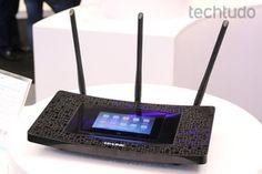 Touch P5 roteador (Foto: Nicolly Vimercate/TechTudo)