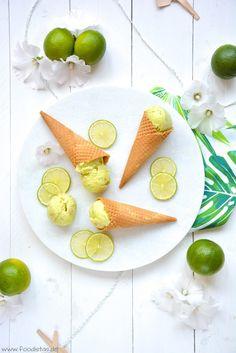Key Lime Pie Ice Cream von den [Foodistas]