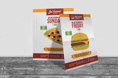 Fast Food Shop Opening Flyer by ModernStudio on @creativemarket