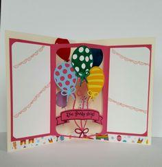 Balloonparty und die Thinlits Ballon Pop-Up sind ein tolles Bundle um Geburtstagskarten zu erstellen