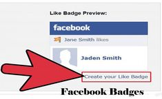 Facebook Badges - How to Create Facebook Badges - Techshure Facebook Content, Facebook Profile, Facebook Likes, Facebook Photos, Online Cv, Facebook Platform, Told You So