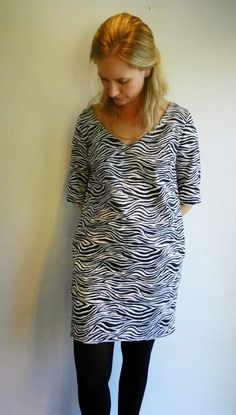 Zebra Love - La Maison Victor - Rosa jurk - ZowieZo Handmade