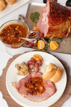 enjoy this ham glaze recipe for your easter brunch menu this easy marmalade ham glaze - Best Christmas Ham