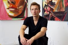 We pay a visit to the studio of painter Erik Olson as he prepares for the latest exhibition of his work.