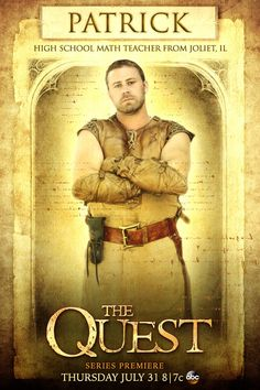 """Meet the Paladins: Patrick Higgins: """"My wife says I'm already a hero. It's time to let the rest of the world see that."""" #TheQuest"""