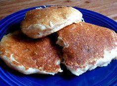 Yogurt pancakes....no eggs or milk in this recipe