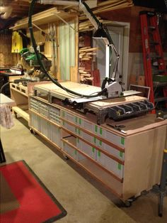Homemade systainer storage cart,MFT stand, (larger photos attached) inspiring for storage under work bench