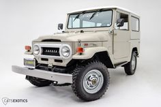 1970-fj40-toyota-land-cruiser-clean-restored-4×4-teq-japan-frame off-f | Land Cruiser Of The Day!