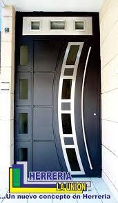 1000 images about puertas on pinterest modern door for Puerta herreria minimalista