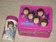 As I got older, I moved on to the Osmonds.  I was in heaven, carrying my lunch to school everyday in a lunchbox like this.