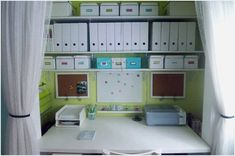 If you are trying to determine how to bring a home office into your space, and there just isn't enough free wall space to do it, converting a closet into one, may be your best solution. Many closets are not used nearly to their best potential, and by converting one into a home office could solve your space issue and help you stay organized and functional in your office. If you're considering transforming that poorly used hall closet into a worthwhile office space, here are tips to help