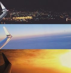 I think my favorite view will always be from the plane windows