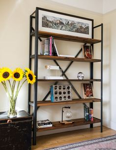 Perfect Bookcase Shelving Unit Industrial By Kodastudios On Etsy Awesome Design