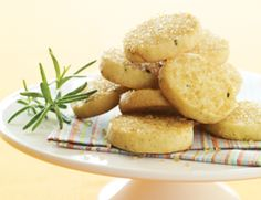 Lemon-Rosemary Butter Cookies. The description says my kitchen will smell like an Italian bakery! :)