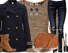 In the navy - Casual Outfit - stylefruits.nl