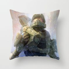 HALO 4 throw pillow #gaming #decor