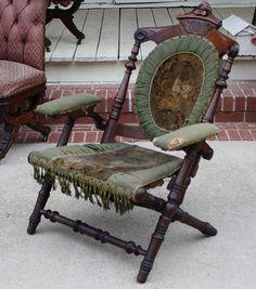 Love this Hunzinger chair!  Someone bring me my tea & my book & my lap robe!
