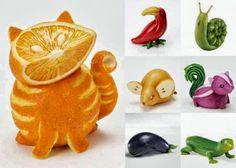 Diseño de Frutas para Fiestas Infantiles - Bocadillos Sanos y Nutritivos | Decoraciones Para Fiestas